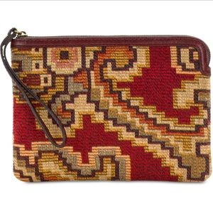 Patricia Nash Wristlet pouch: RED